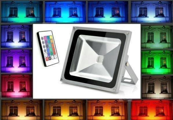 Kleuren RGB LED bouwlamp